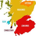 Whisky-Hauptstadt der Welt. Die Stadt Даффтон. Schottland.