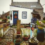 Bölge Highlands. Balıkçı köyü Fittie.